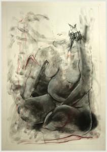 Sitzende-wei -auf-schwarz-211x300 in weibliche Figur