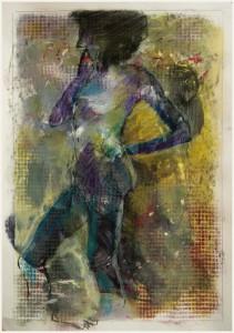 StandbeinSpielbein-violett-211x300 in weibliche Figur
