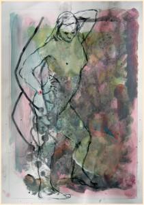 Stehende-Standbein-Arm-gehoben-211x300 in weibliche Figur