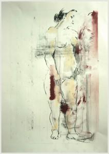 Stehende-ins-braun-drehend-212x300 in weibliche Figur
