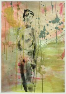 Stehende-nach-links-wendend-212x300 in weibliche Figur