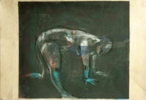 Vierfu Ssler-ein-Bein-zwei-Arme-stu Tzen-ein-Bein-gestreckt-300x207 in weibliche Figur